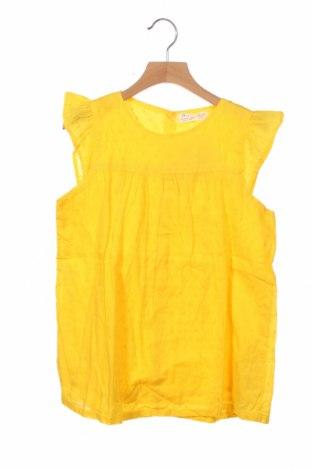 Παιδική μπλούζα ZY kids, Μέγεθος 10-11y/ 146-152 εκ., Χρώμα Κίτρινο, Βαμβάκι, Τιμή 10,17€