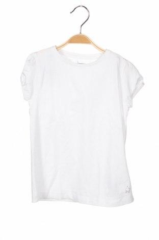 Детска блуза ZY kids, Размер 4-5y/ 110-116 см, Цвят Бял, 96% памук, 4% еластан, Цена 3,84лв.