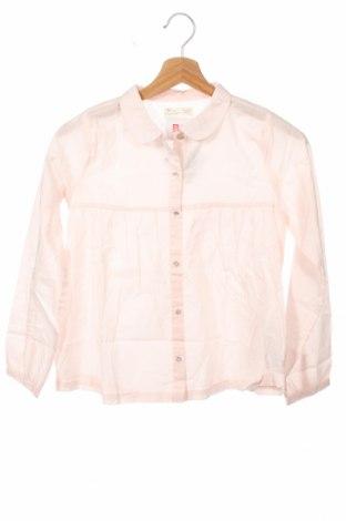 Детска риза ZY kids, Размер 10-11y/ 146-152 см, Цвят Розов, Памук, Цена 3,04лв.