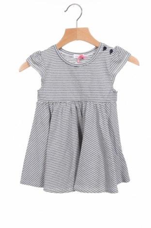 Детска рокля Absorba, Размер 3-6m/ 62-68 см, Цвят Бял, 53% памук, 33% модал, 8% други материали, 6% еластан, Цена 7,35лв.