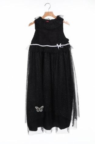 Детска рокля La Compagnie des Petits, Размер 9-10y/ 140-146 см, Цвят Черен, Полиестер, Цена 30,80лв.