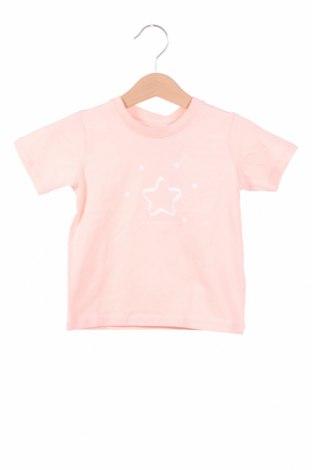 Детска тениска Belly Button, Размер 9-12m/ 74-80 см, Цвят Розов, 95% памук, 5% еластан, Цена 5,80лв.