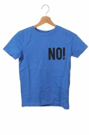 Детска тениска LMTD, Размер 8-9y/ 134-140 см, Цвят Син, Памук, Цена 5,60лв.
