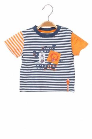 Παιδικό μπλουζάκι La Compagnie des Petits, Μέγεθος 12-18m/ 80-86 εκ., Χρώμα Μπλέ, Βαμβάκι, Τιμή 6,20€