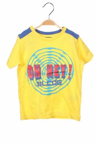 Детска тениска La Compagnie des Petits, Размер 4-5y/ 110-116 см, Цвят Жълт, 100% памук, Цена 3,84лв.