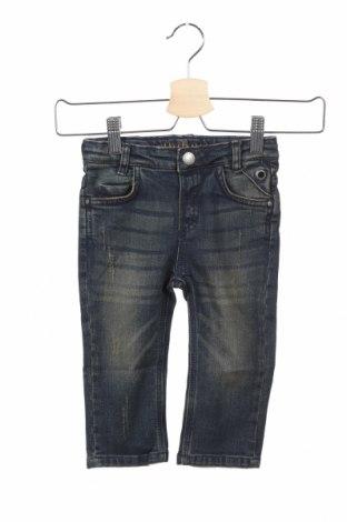 Детски дънки Belly Button, Размер 12-18m/ 80-86 см, Цвят Син, 98% памук, 2% еластан, Цена 18,88лв.