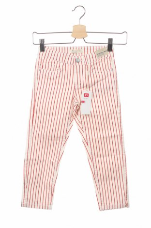 Детски дънки ZY kids, Размер 4-5y/ 110-116 см, Цвят Бял, 98% памук, 2% еластан, Цена 7,80лв.