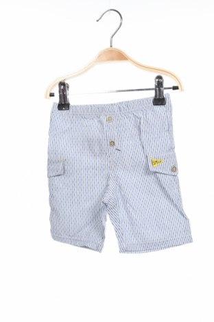 Детски къс панталон Absorba, Размер 9-12m/ 74-80 см, Цвят Бял, 93% памук, 7% еластан, Цена 5,10лв.