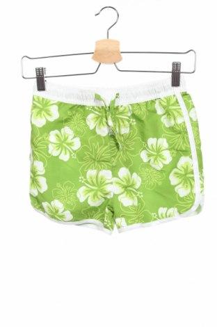 Παιδικό κοντό παντελόνι Basics, Μέγεθος 13-14y/ 164-168 εκ., Χρώμα Πράσινο, Πολυεστέρας, Τιμή 9,56€