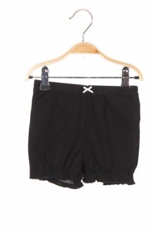 Pantaloni scurți pentru copii Carter's, Mărime 12-18m/ 80-86 cm, Culoare Negru, Bumbac, Preț 88,82 Lei