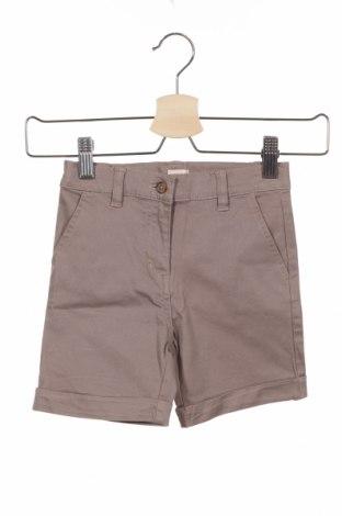Детски къс панталон Gocco, Размер 3-4y/ 104-110 см, Цвят Бежов, 98% памук, 2% еластан, Цена 3,12лв.