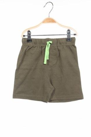Παιδικό κοντό παντελόνι Grain De Ble, Μέγεθος 2-3y/ 98-104 εκ., Χρώμα Πράσινο, 96% βαμβάκι, 4% ελαστάνη, Τιμή 6,27€