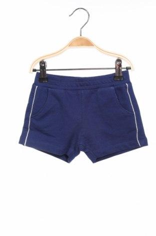 Παιδικό κοντό παντελόνι Grain De Ble, Μέγεθος 2-3y/ 98-104 εκ., Χρώμα Μπλέ, 94% βαμβάκι, 6% ελαστάνη, Τιμή 7,89€
