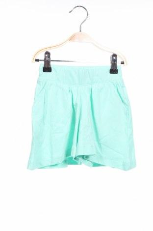 Детски къс панталон ZY kids, Размер 18-24m/ 86-98 см, Цвят Зелен, Памук, Цена 3,24лв.
