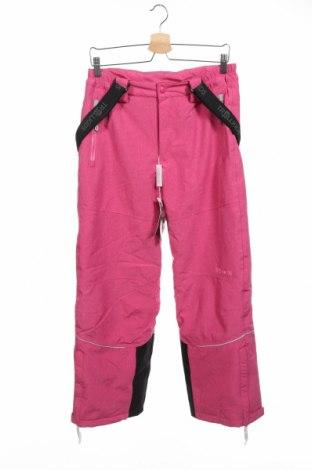 Детски панталон за зимни спортове Trollkids, Размер 12-13y/ 158-164 см, Цвят Розов, Полиестер, Цена 64,35лв.