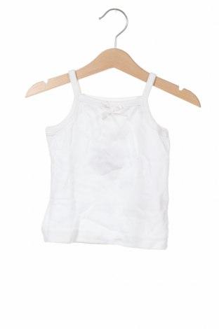 Детски потник Gocco, Размер 2-3m/ 56-62 см, Цвят Бял, Памук, Цена 3,12лв.