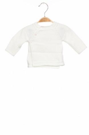 Детски пуловер Absorba, Размер 1-2m/ 50-56 см, Цвят Бял, Памук, Цена 19,08лв.