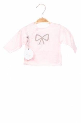 Детски пуловер Absorba, Размер 0-1m/ 50 см, Цвят Розов, Памук, Цена 23,00лв.