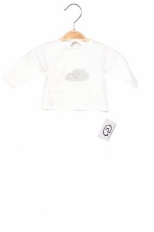 Детски пуловер Absorba, Размер 0-1m/ 50 см, Цвят Бял, Памук, Цена 20,14лв.