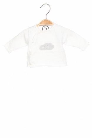 Детски пуловер Absorba, Размер 0-1m/ 50 см, Цвят Бял, Памук, Цена 24,38лв.