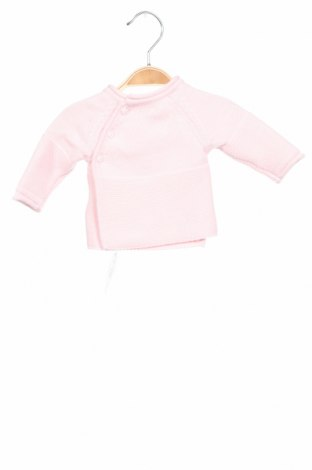Детски пуловер Absorba, Размер 0-1m/ 50 см, Цвят Розов, Памук, Цена 24,38лв.