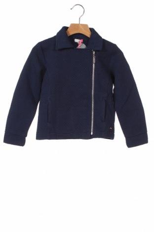 Детско яке Absorba, Размер 5-6y/ 116-122 см, Цвят Син, 78% памук, 22% полиестер, Цена 10,62лв.