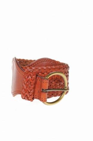Колан H&M, Цвят Кафяв, Естествен велур, Цена 16,38лв.