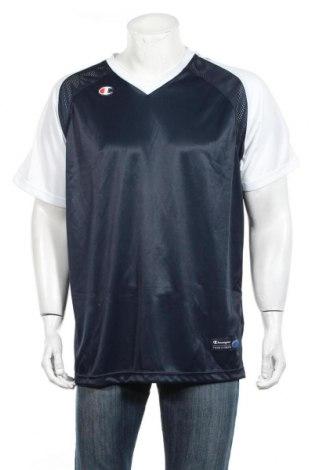 Ανδρικό t-shirt Champion, Μέγεθος S, Χρώμα Μπλέ, Πολυεστέρας, Τιμή 16,24€