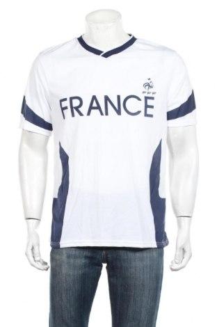 Ανδρικό t-shirt FFF France, Μέγεθος L, Χρώμα Λευκό, Πολυεστέρας, Τιμή 13,15€