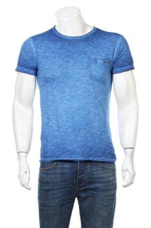 Ανδρικό t-shirt Japan Rags by Le Temps des Cerises, Μέγεθος S, Χρώμα Μπλέ, Βαμβάκι, Τιμή 21,34€