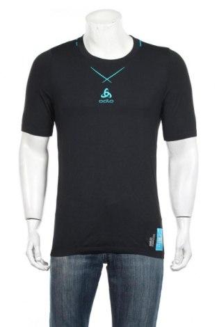 Ανδρικό t-shirt Odlo, Μέγεθος XL, Χρώμα Μαύρο, 95% πολυαμίδη, 5% ελαστάνη, Τιμή 18,95€