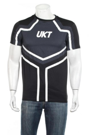 Ανδρικό t-shirt Unkut, Μέγεθος S, Χρώμα Μαύρο, 94% πολυεστέρας, 6% ελαστάνη, Τιμή 10,82€