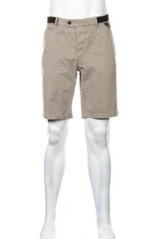 Мъжки къс панталон Eleven Paris, Размер L, Цвят Сив, Памук, Цена 31,15лв.