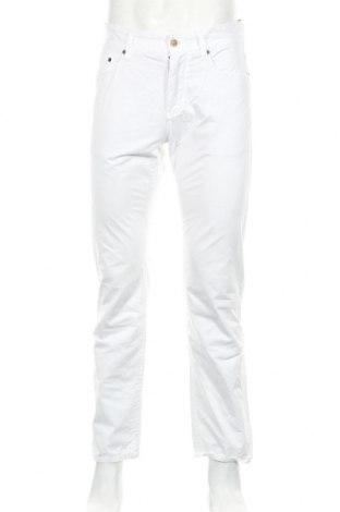 Мъжки панталон Esprit, Размер S, Цвят Бял, Памук, Цена 7,25лв.