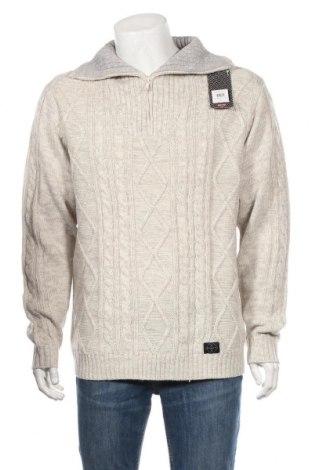 Мъжки пуловер Complices, Размер XXL, Цвят Сив, 100% акрил, Цена 40,12лв.