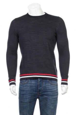 Ανδρικό πουλόβερ Core By Jack & Jones, Μέγεθος S, Χρώμα Μπλέ, 64% βαμβάκι, 36% πολυεστέρας, Τιμή 20,78€
