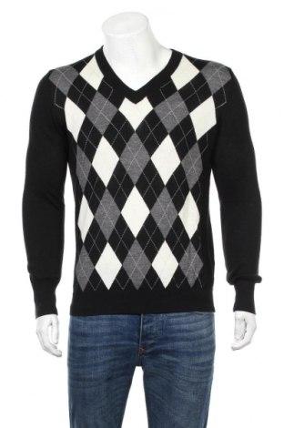 Ανδρικό πουλόβερ Galvin Green, Μέγεθος M, Χρώμα Μαύρο, 50% μαλλί, 50%ακρυλικό, Τιμή 42,22€