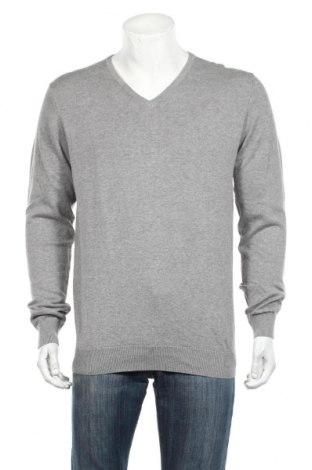 Ανδρικό πουλόβερ H&M, Μέγεθος L, Χρώμα Γκρί, Βαμβάκι, Τιμή 18,84€