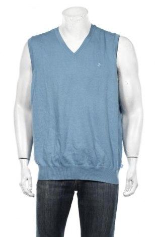 Мъжки пуловер Izod, Размер L, Цвят Син, Памук, Цена 6,56лв.