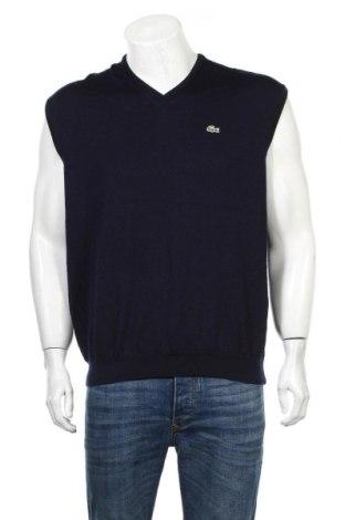 Ανδρικό πουλόβερ Lacoste, Μέγεθος L, Χρώμα Μπλέ, 100% μαλλί, Τιμή 36,37€