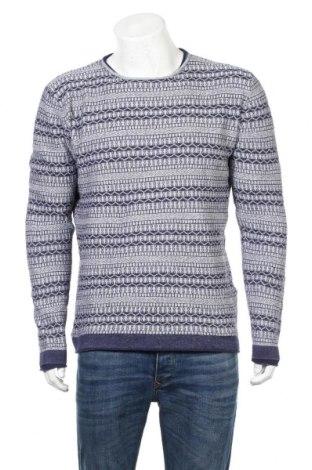 Ανδρικό πουλόβερ Originals By Jack & Jones, Μέγεθος L, Χρώμα Μπλέ, Βαμβάκι, Τιμή 24,68€
