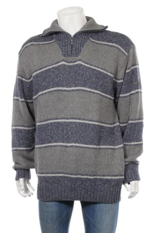 Ανδρικό πουλόβερ Ragman, Μέγεθος XXL, Χρώμα Μπλέ, 100% βαμβάκι, Τιμή 18,19€