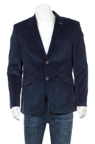 Męska marynarka Cavani, Rozmiar XL, Kolor Niebieski, 90% poliester, 10% wiskoza, Cena 93,00zł