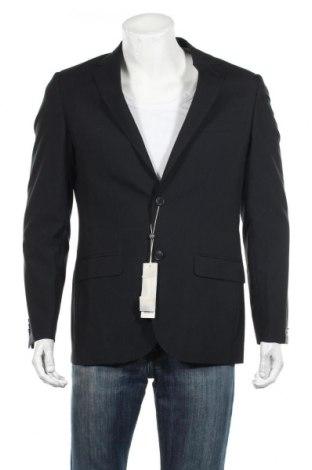 Мъжко сако Esprit, Размер M, Цвят Черен, 55% полиестер, 45% вискоза, Цена 17,00лв.