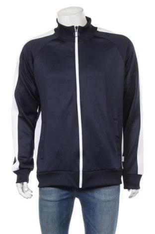 Мъжко спортно горнище Jack & Jones, Размер XL, Цвят Син, 95% полиестер, 5% еластан, Цена 41,30лв.
