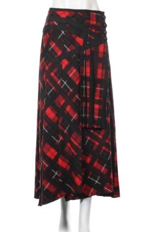 Spódnica Betty Barclay, Rozmiar L, Kolor Czerwony, 65% poliester, 32% wiskoza, 3% elastyna, Cena 132,00zł
