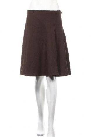 Пола Bruuns Bazaar, Размер M, Цвят Кафяв, 60% вълна, 40% вискоза, Цена 5,78лв.