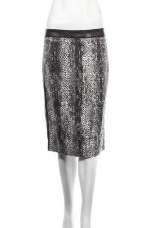 Пола Micha, Размер M, Цвят Черен, 98% памук, 2% еластан, еко кожа, Цена 28,60лв.