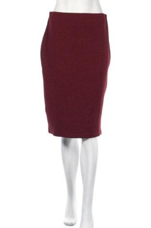 Spódnica New Look, Rozmiar M, Kolor Czerwony, 98% poliester, 2% elastyna, Cena 57,00zł