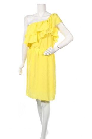 Рокля BELAIR, Размер M, Цвят Жълт, Коприна, Цена 71,82лв.